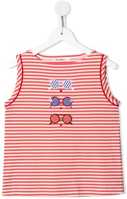 Familiar Sunnies Striped Tank Top