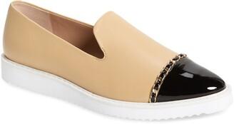 Karl Lagerfeld Paris Caralee Cap Toe Slip-On Sneaker