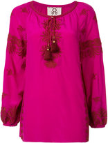 Figue Serena kaftan blouse - women - Silk - XS