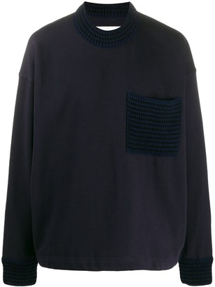 Jil Sander Contrast Knit Jumper
