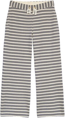 Scotch R'Belle Kids' Stripe Wide Leg Sweatpants