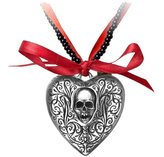 The Reliquary Heart Locket Pendant by Alchemy Gothic, England