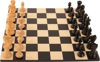 Purling Heritage Ebony V Boxwood Chess Set