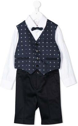 Colorichiari Four-Piece Trouser Set