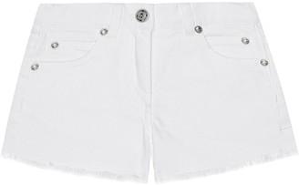 Balmain Kids Stretch-cotton denim shorts