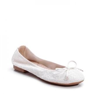 Paradox London Lace 'Xeelia' Comfort Ballerina