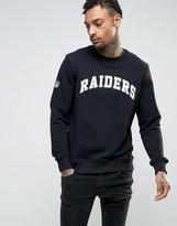 New Era Sweatshirt With Raiders Logo