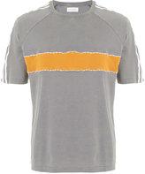 Wales Bonner crew neck panelled T-shirt