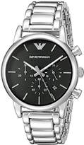 Emporio Armani Men's AR1853 Dress Silver Watch