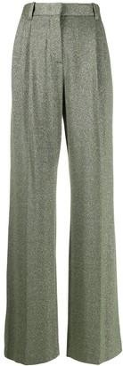 M Missoni Metallic High Waisted Trousers