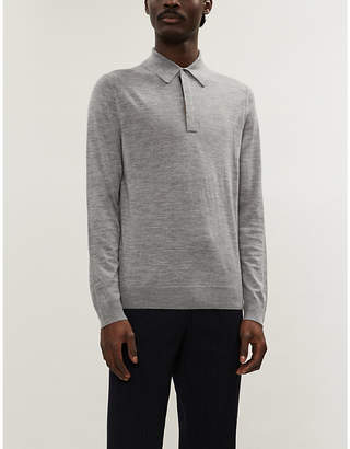 Paul Smith Slim-fit wool polo shirt