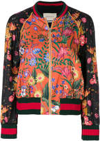 Gucci Loved panther bomber jacket