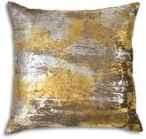 "Michael Aram Distressed Metallic Velvet Print Decorative Pillow, 20"" x 20"""