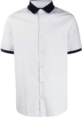 Michael Kors polka dot print shirt