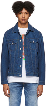 Diesel Blue Denim Hill-Ne Jacket
