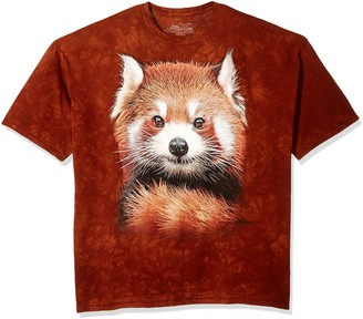 The Mountain Red Panda Portrait Adult T-Shirt