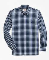 Brooks Brothers Check Broadcloth Sport Shirt