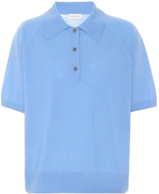 Dries Van Noten Merino wool polo shirt