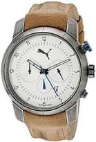 Puma Men's PU103341001 Essence Chrono Analog Display Quartz Brown Watch