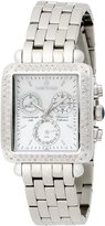 Sartego Women's SDMP395S Diamond Fashion Square Shape Chronograph
