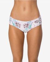 O'Neill Diego Printed Side-Knot Cheeky Bikini Bottoms