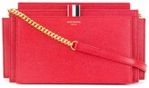 Thom Browne chain strap accordion clutch