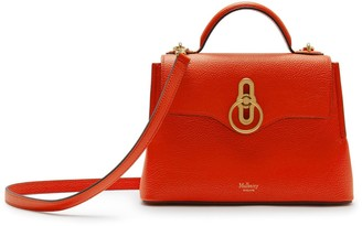 Mulberry Mini Seaton Coral Orange Small Classic Grain