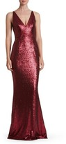 Dress the Population Women's Harper Mermaid Gown