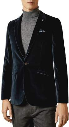 Ted Baker Galway Velvet Slim-Fit Suit Jacket