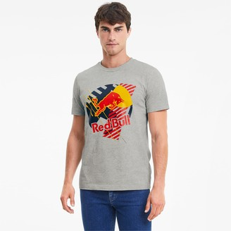 Puma Red Bull Racing Dynamic Bull Men's Tee