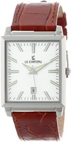 Le Château Men's 7078m_wht Classica Watch