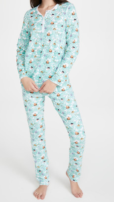 Roller Rabbit Heads & Tails Pajamas