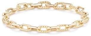 David Yurman Dy Madison Chain Bold Bracelet In 18K Gold, 6Mm