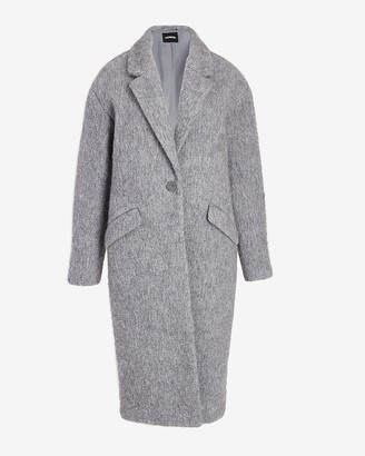 Express Wool-Blend Car Coat