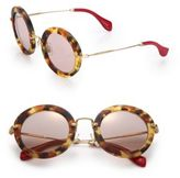 Miu Miu 49MM Round Sunglasses
