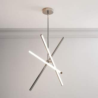 "west elm Light Rods LED Semi-Flushmount (38"")"