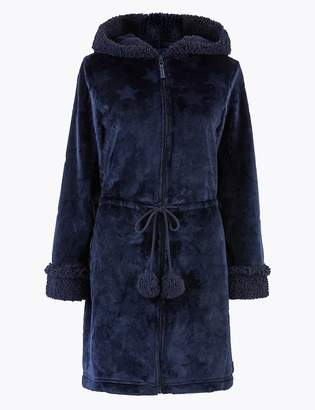Marks and Spencer Star Short Dressing Gown