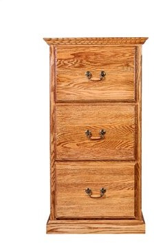 Hutchins 3-Drawer Vertical Filing Cabinet Loon Peak Color: Antique Alder