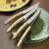Laguiole Jean Dubost Birch Steak Knives, Set of 4