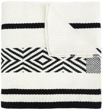 Voz Comunidad merino-wool scarf