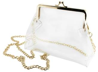 clear Capri Designs Kiss Lock Crossbody