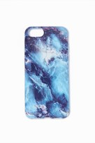 Garage Blue Marble Print iPhone 6 Case