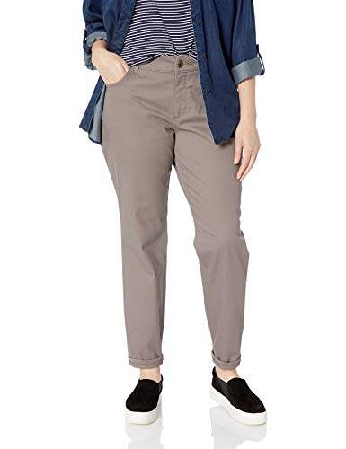 Lee Women's Plus Size Instantly Slims Classic Relaxed Fit Monroe Straight Leg Jean