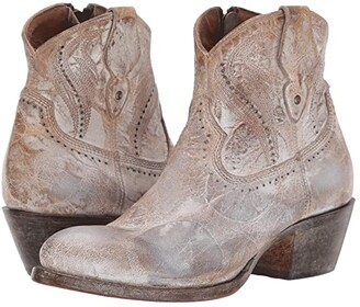 Lucchese Sabine (Cream) Women's Shoes