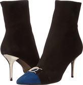 Versace Cap Toe 70mm Ankle Bootie