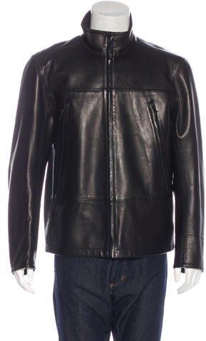 Ralph Lauren Lambskin Leather Jacket