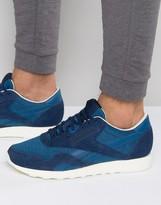Reebok Classic Nylon Sneakers In Blue AR0896