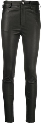 Drome High Rise Skinny Fit Trousers