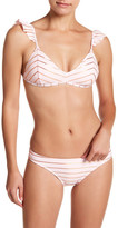 Betsey Johnson Metallic Hipster Bikini Bottom