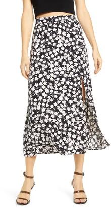 Leith Ditsy Floral Midi Skirt